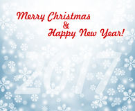 New Year background Christmas holiday 2017. New Year background. Happy New Year greeting card. Celebration yellow background with place for your text. Chinese Stock Images