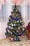 New Year background - Christmas tree Royalty Free Stock Photo