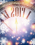 2017 New Year background. Royalty Free Stock Photo