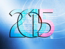 New Year 2015 background concept Royalty Free Stock Image