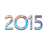 New Year 2015 background concept Stock Photography