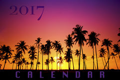 New Year 2017 background concept Stock Photos