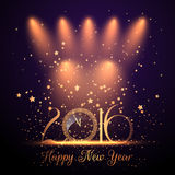 New Year background. Decorative Happy New Year background Stock Photography