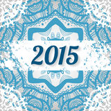 2015 new year background. For design Stock Photos