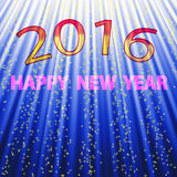 2016 new year background. For design Royalty Free Stock Images
