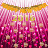 2016 new year background. For design Stock Photo