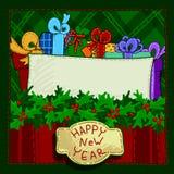 New Year background Stock Image
