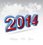New Year 2014 background Royalty Free Stock Images