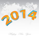 New Year 2014 background Royalty Free Stock Photography