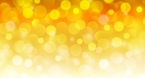 New year background gold. With glittering bokeh lights, christmas bokeh background Royalty Free Stock Image