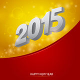 New year 2014 Background. New year 2014 Gold and Red Background stock illustration