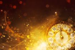 Bokeh New Year background royalty free stock photos