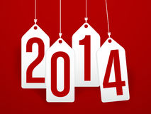 2014 new year background Stock Images