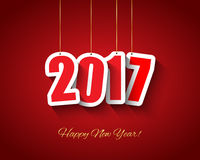 2017 New year background Royalty Free Stock Photography