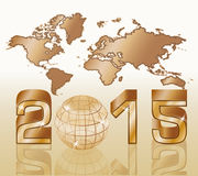 2015 New year background Royalty Free Stock Images