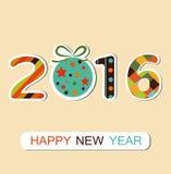 New Year 2016 Background. Illustration New Year 2016 background royalty free illustration