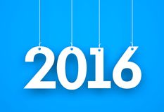 New year - 2016 - background. New year - illustration for 2016 year vector illustration