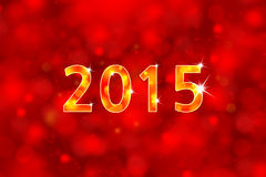 New year background 2015 Royalty Free Stock Photo