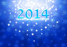New Year background with Magen David stars Royalty Free Stock Images