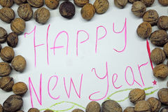 With the New year. Royalty Free Stock Photography