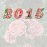 2015 new year. Background picture Royalty Free Stock Images