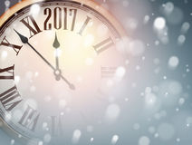 2017 New Year background. Royalty Free Stock Image