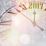2017 New Year background. Royalty Free Stock Photography