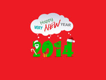 New Year background. With 2014 sign Stock Photo
