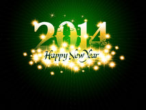 New Year background. With 2014 sign Stock Photos