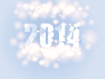 New Year background. With 2014 sign Stock Images
