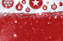 New year background on snow Royalty Free Stock Images