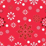 New year background with snowflakes. Inscription New year royalty free illustration