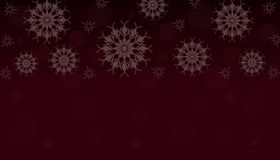New Year. Background with snowflakes. Vector. stock illustration