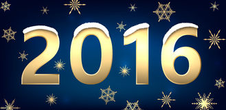 2016 New Year background Stock Images