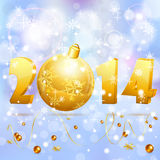 New Year background Royalty Free Stock Image