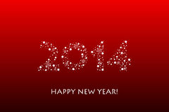 2014 new year background. Vector 2014 new year background Royalty Free Stock Images