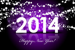 2014 - New Year background Royalty Free Stock Photography