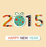 New Year 2015 background Royalty Free Stock Photos