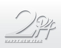New Year Background 2014. Vector illustration Royalty Free Stock Photography