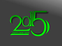New year 2015 background. Vector illustration Stock Photo