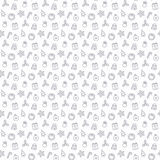 Seamless new year pattern and background vector illustration vector illustration