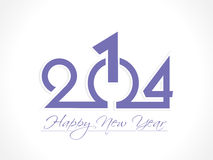 New year 2014 background. Vector illustration Royalty Free Stock Image