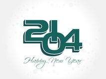 New year 2014 background. Vector illustration Stock Photography