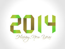 New year 2014 background. Vector illustration Stock Photos