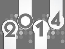 New year 2014 background. Vector illustration Royalty Free Stock Images