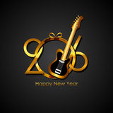 New Year 2016 Background. Vector Illustration Stock Image