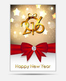 2016 New Year Background. Vector Illustration. EPS10 Stock Photos