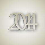 2014 New Year background vector illustration Stock Photos