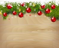 New year background. Vector illustration. Stock Image