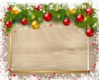 New year background. Vector illustration. Royalty Free Stock Photos